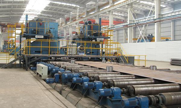 JCOE LSAW pipe production line