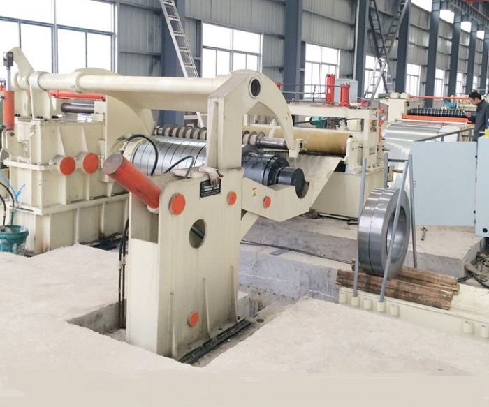 Slitter slitting production line